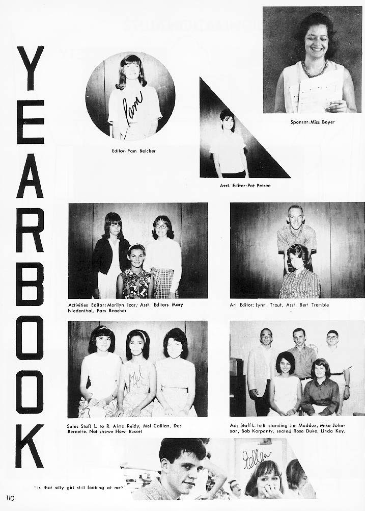 1965 Fledgling Yearbook - Activities - Pages 106 to 127